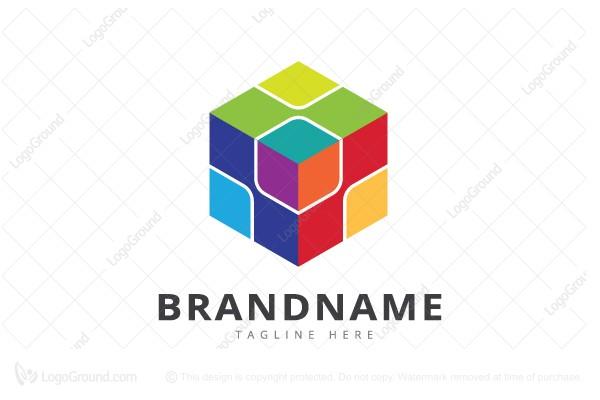 cube color logo