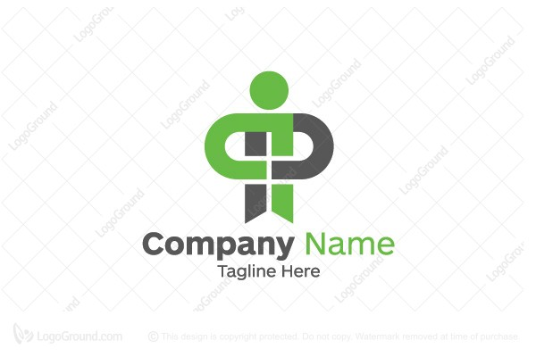 double p logo