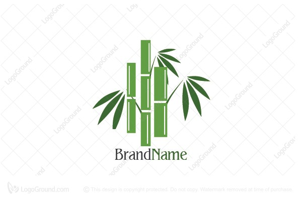 Logo for sale: Triple Bamboo Logo