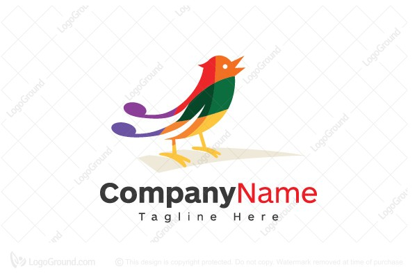 Logo for sale: Musical Bird Logo