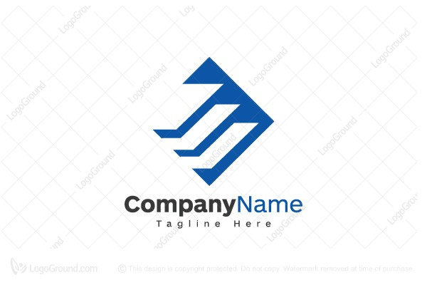 Logo for sale: Blue Stair Logo