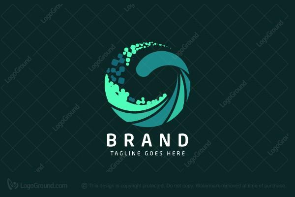 it wave logo