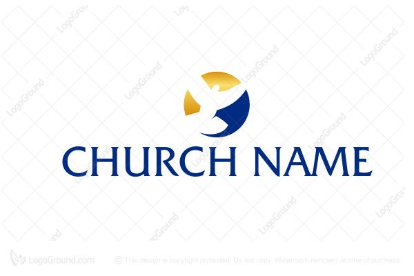 Dove church logo logo for sale dove church logo altavistaventures Choice Image