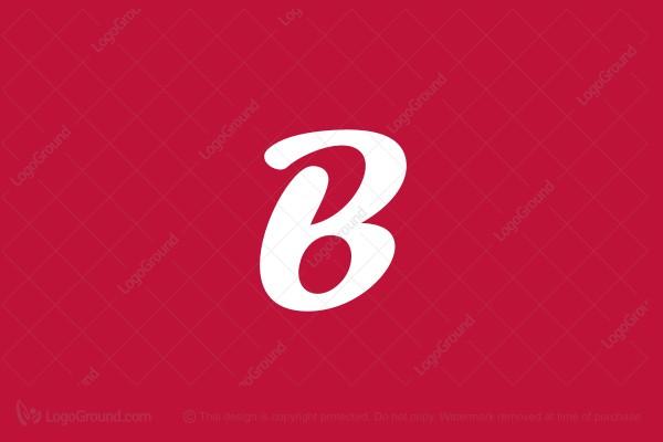 B Logo red b logo
