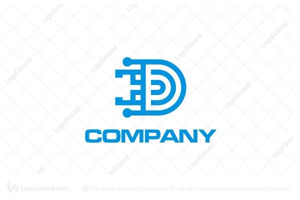 Circuit Board D Logo