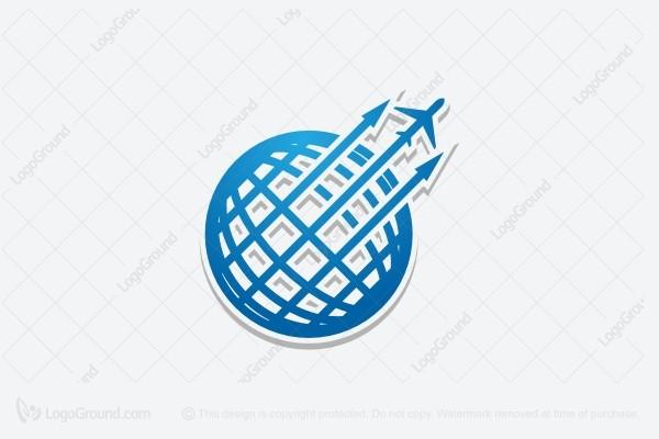 globe jet travel logo