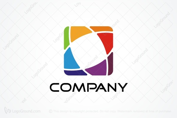 Logo for sale: Colorful Web Logo