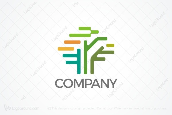 Logo for sale: Tech Tree Logo