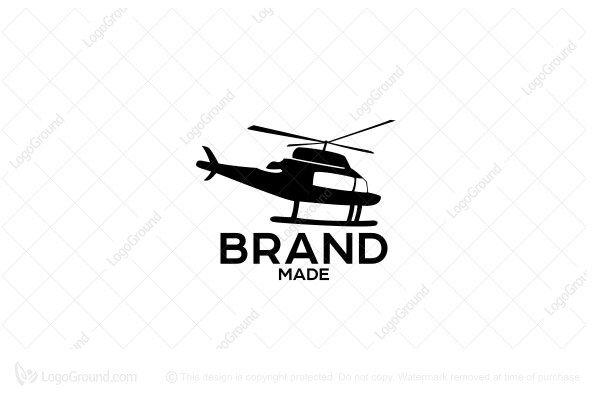 Logo for sale: Helicopter  Logo