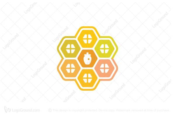 Exclusive Logo 63087 Honey House Logo