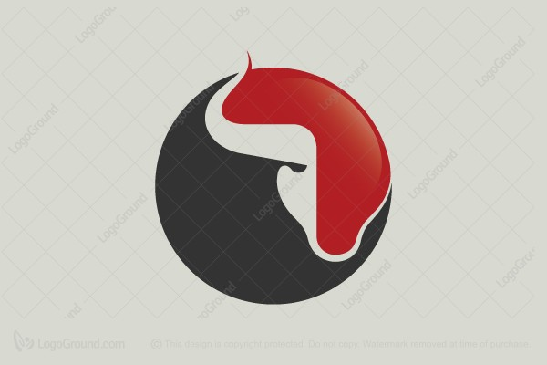 Logo for sale: Bull Logo