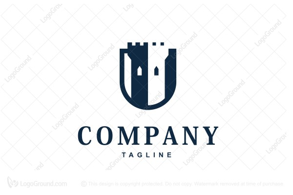 Logo for sale: Tower Shield Logo