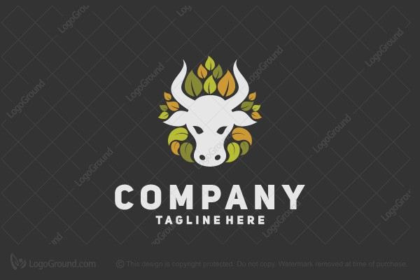 Logo for sale: Cow Logo