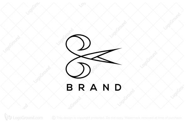 Letter e scissors logo logo for sale letter e scissors logo thecheapjerseys Gallery