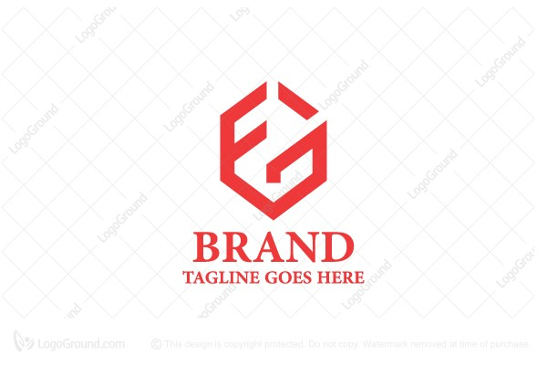 Logo for sale: F G Or G F Letters Logo