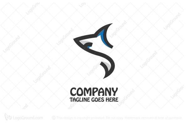 logo for sale shark logo