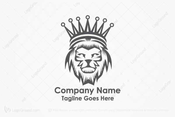 Logo For Sale Crown Lion