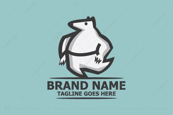 Logo for sale: Dancing Bear Logo
