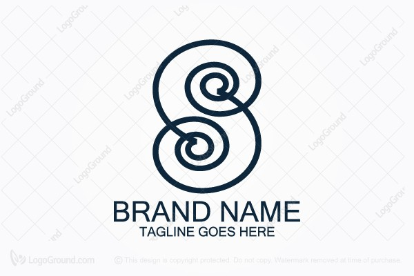 Logo for sale: Spiral S Logo