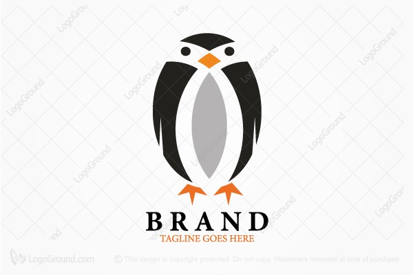 Logo for sale: Penguin Logo