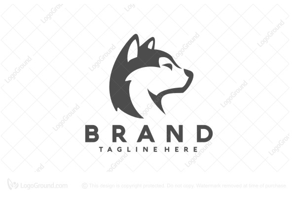 Logo for sale: Husky Logo