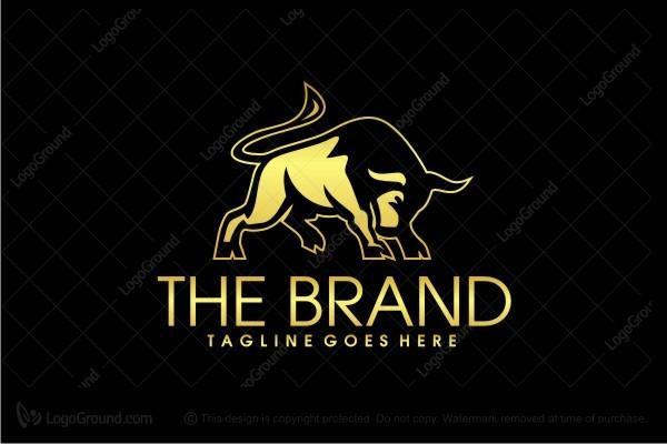 Exclusive Logo 47044 Golden Bull Logo -