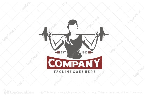 Logo for sale: Gym Club Logo