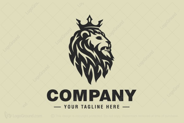 Logo for sale: Epic Lion King Logo