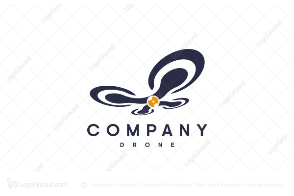 Logo for sale: Drone Logo