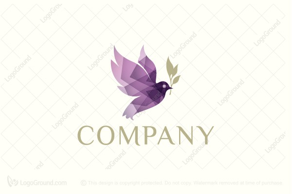 Creative dove logo logo for sale creative dove logo altavistaventures Choice Image