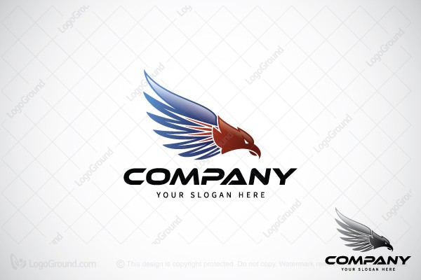 Logo for sale: Modern American Eagle Logo