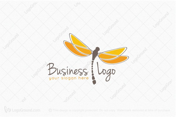Logo for sale: Creative Dragonfly Logo