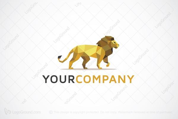 Logo For Sale 3d Paper Lion