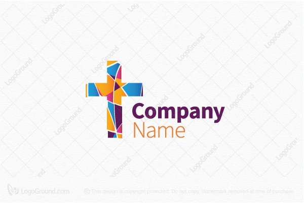 Colorful broken cross logo logo logo for sale colorful broken cross logo logo thecheapjerseys Gallery