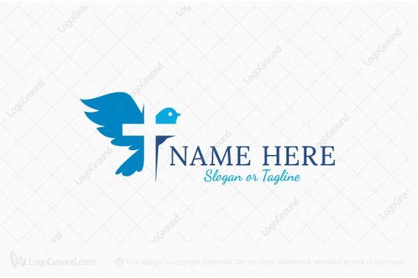 pigeon cross christian logo