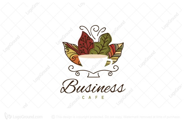 Logo for sale: Country Fall Cafe Logo