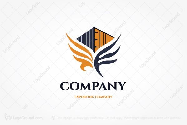 Falcon Logistics Logos for Sale