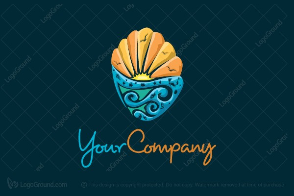 Logo for sale: Sea Shell Logo