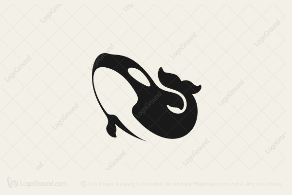 Logo for sale: Killer Whale Logo