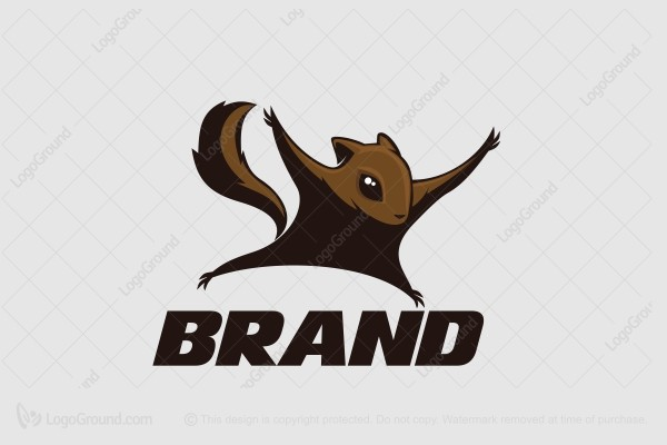 Logo for sale: Flying Squirrel Logo