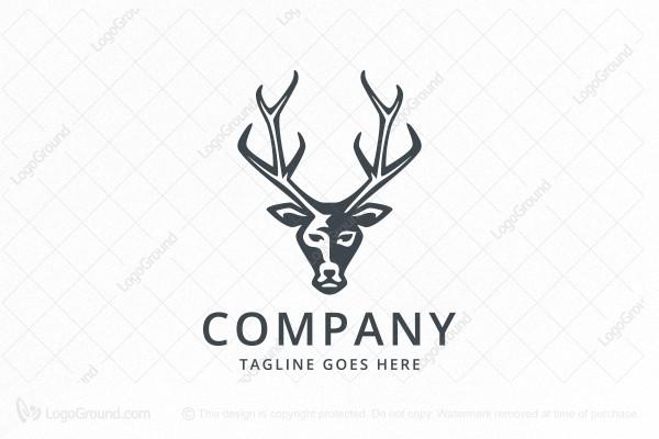 deer head logo rh logoground com Deer Head Silhouette Deer Head Stencil