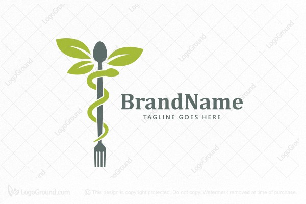 Logo for sale: Food Medicine Logo
