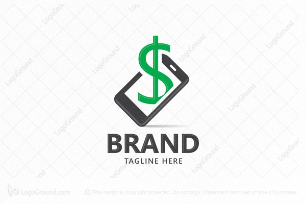 Logo for sale: Mobile Payment Logo