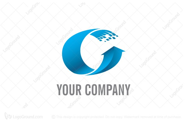 Logo for sale: Big Digital C Logo