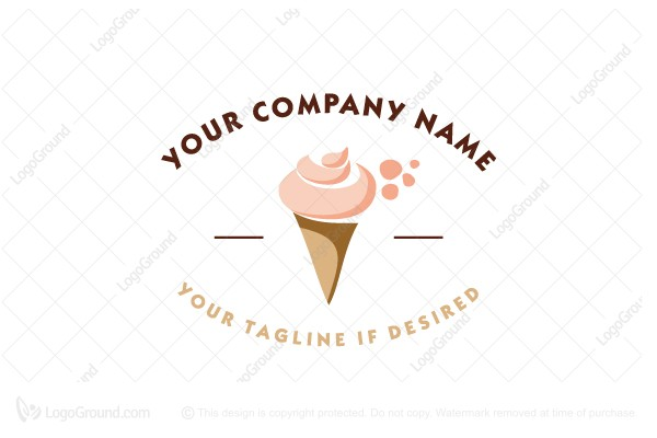 Logo for sale: Ice Cream Logo