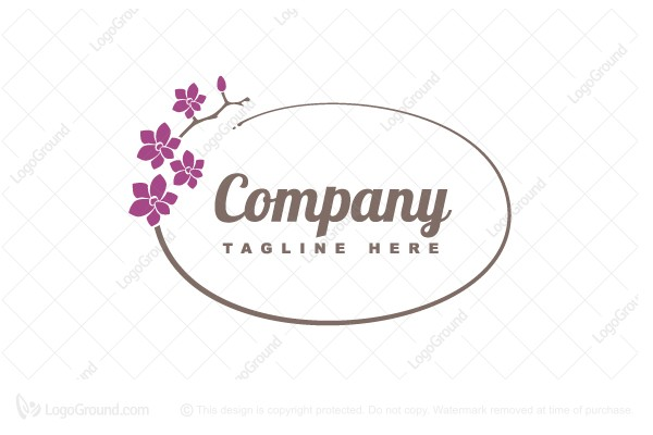 Logo for sale: Flowers And Gifts Logo