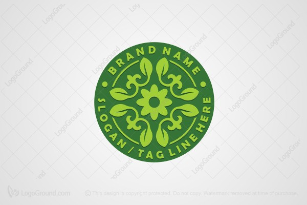 Logo for sale: Plant Crest Logo