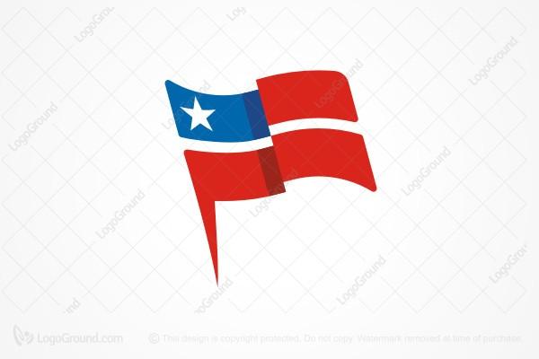 minimalist american flag logo rh logoground com american flag logo eagle american flag logos free
