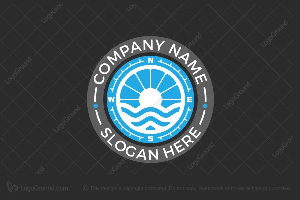 Logo for sale: Ocean Navigation Logo