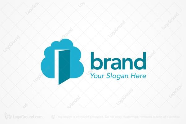 Cloud Door Logo  sc 1 st  LogoGround & Open Door Logos for Sale